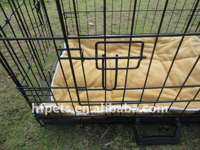 Black dog cage,metal dog cage,folding dog cage