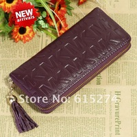 Дорожная сумка 2013 New Fashion Designer Handbag Purses For Women Genuine Leather Long Wallet 7 Color