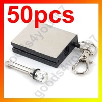 Спички New 50pcs/lot Military waterproof Match Stainless steel matches key chain