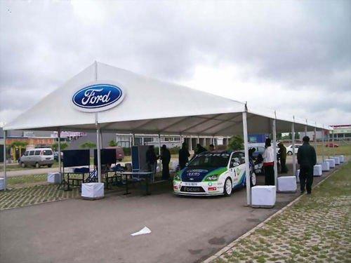 Luxury outdoor car showroom exhibition marquee