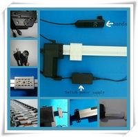 Мотор 12V ленты для телевидения поднять lcd таблица ТВ стенд инсульта 600 мм dc мин линейный привод