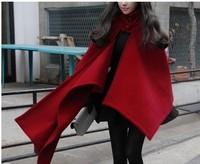 Женская кофта для спортивной ходьбы Qiu dong outfit new han edition 13 female aristocratic temperament is the red cloth coat coat cape cape overcoat