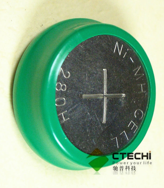 NI-MH button cell battery 330MaH