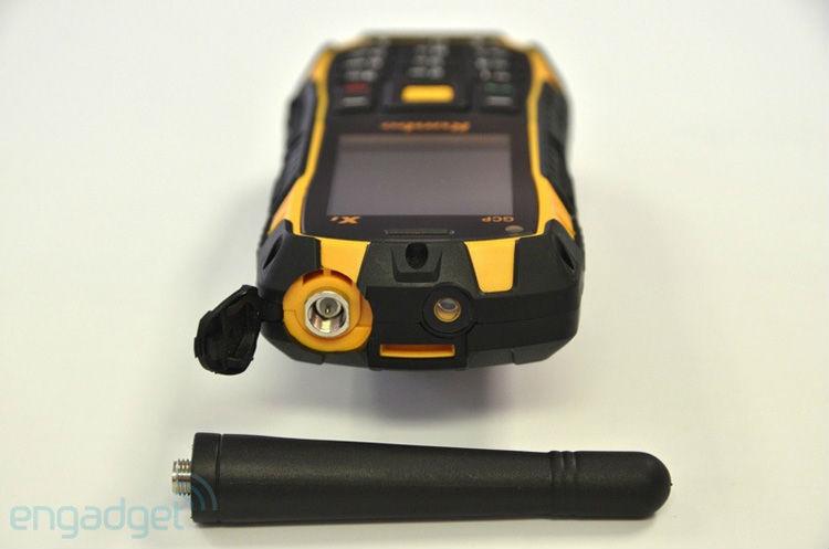 Rugged Ip67 Walkie Talkie Runbo X1 Waterproof Dustproof