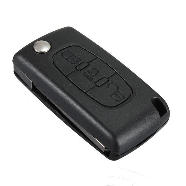 Key Fob Shell Case 3 Buttons for CITROEN Peugeot C2 C3 C4 C5 C6 C8
