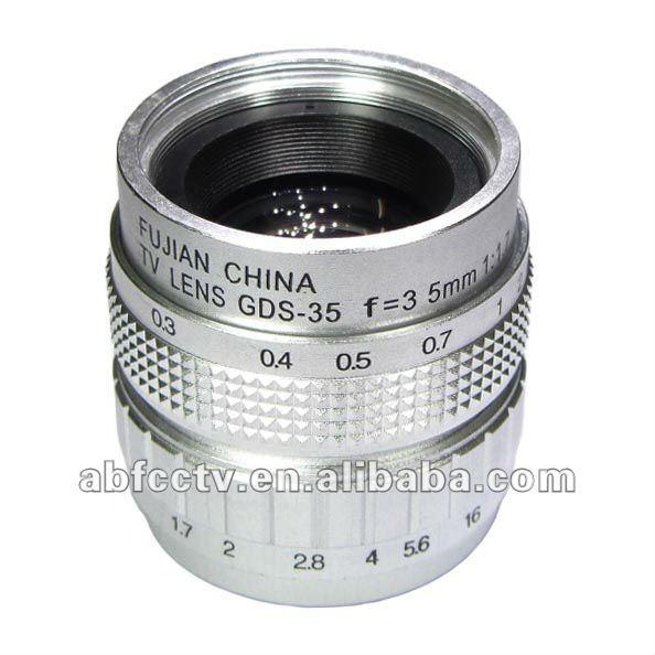 Lens 35mm 35mm fa Lens F1.7 Manual
