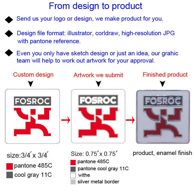 Custom metal sport cufflink