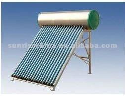 Steel Tank Thermosiphon Solar Water Heater