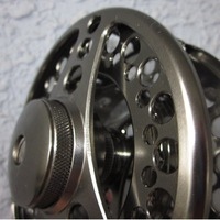 A lot fly reel FS,6061AL.,CNC machine,changed easily from right to left hand+free shipping via EMS
