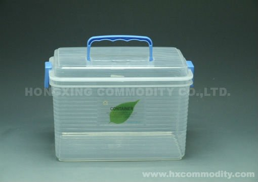 8L Plastic Storage Case with Handle
