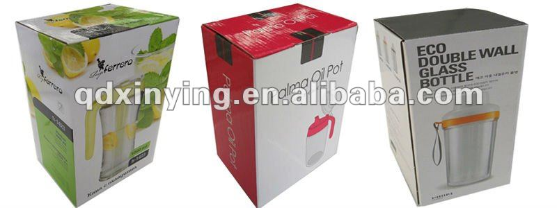 Ecofriendly Corrugated Qingdao Packaging Box