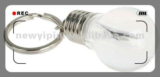 2014 cheap led bulb keychain light
