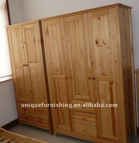 Muebles melamina dormitorio closets roperos odas genuardis for Roperos de madera para dormitorios