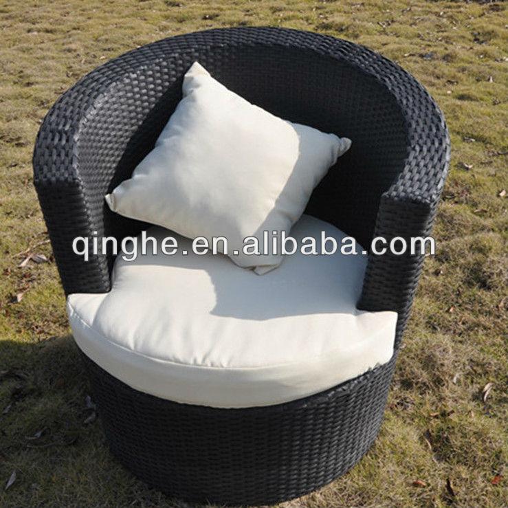 حار بيع!!! صغيرة الترفيه أريكة الأثاث في الهواء الطلق حديقة القش بي