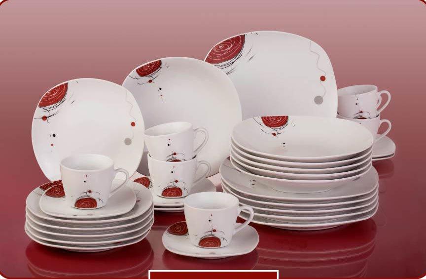 Porcelain Monkey Plate Fine Chian Ceramic Dinner Plate Set