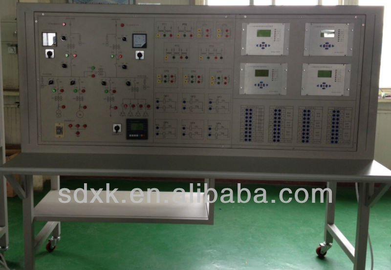Electrical training equipment, Education lab, Electrical Power System Integrated Automation Training Equipment