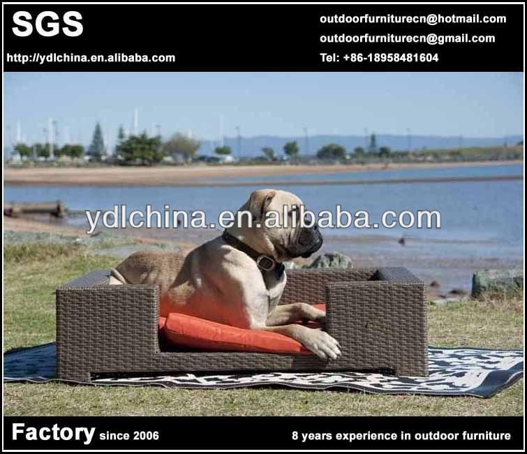 outdoor wicker rattan pet furniture