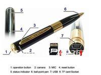 Мини камкордер Mini Pen Dvr Pen Camera 1280 x 960 High Resolution with 8GB memory card without retail box