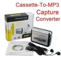 20pcs D2056D USB Cassette-to-MP3 Converter Capture Tape to PC Audio Music Player Eshow