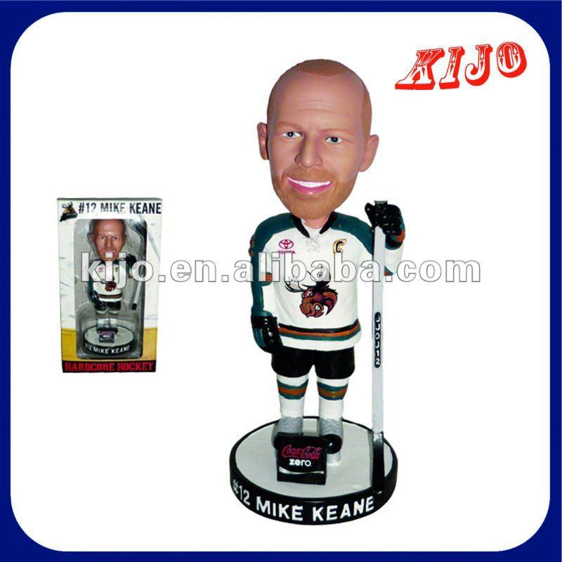 Hockey bobble head