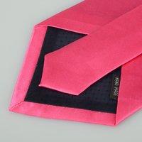 Мужской галстук 2PCS Fashion Solid Color Men's Tie Necktie Classic Solid Plain Neck Tie Set H0066