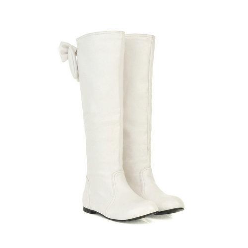 купить белые женские сапоги весна осень