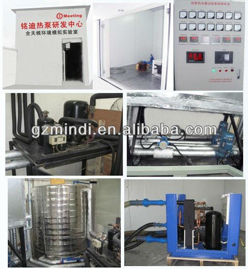 Air source heat pump water heater, Air to water heat pump for heating/hot water (EN14511, CE)