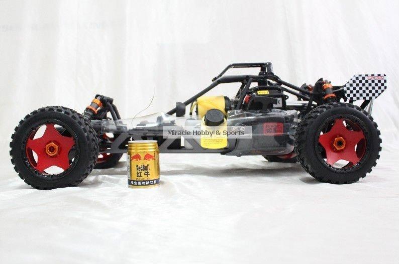 29cc Gas Baja 002 SS - Carbon Fiber version RTR with 2.4G Transmitter - RC car