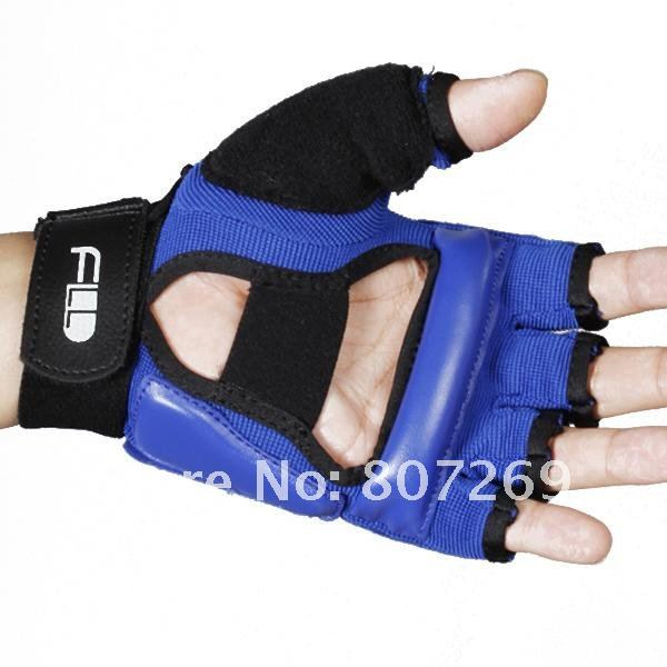 Taekwondo Gloves Hand Protectors Taekwondo Sparring Gloves - Blue