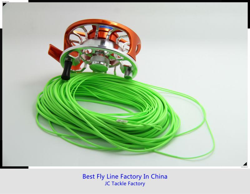 2 welded loops shooting head fly line