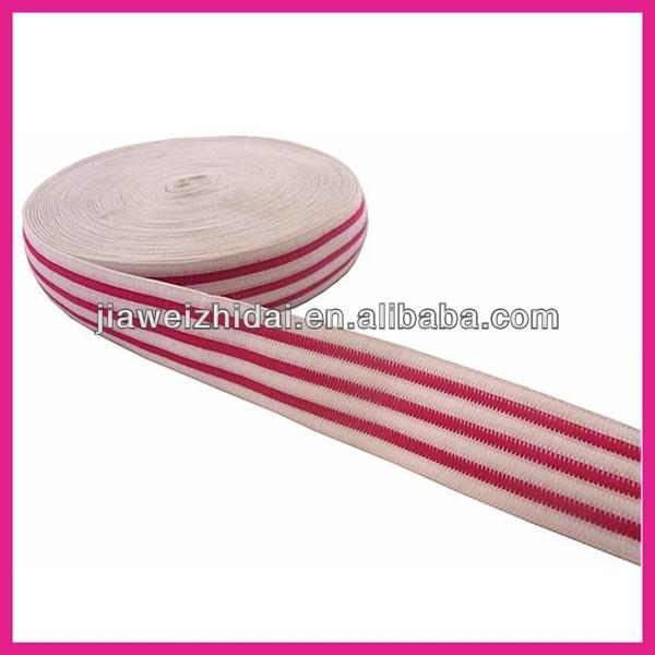 jacquard elastic 2 inch cotton webbing