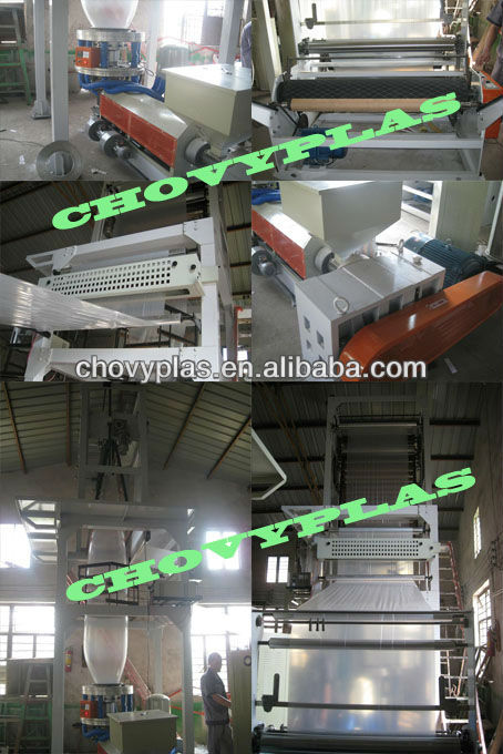 CHOVYPLAS hot-sales blown film extrusion machine