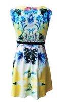 Женское платье shoping Abstract print puff dress fashion.Casual dress TB 2021