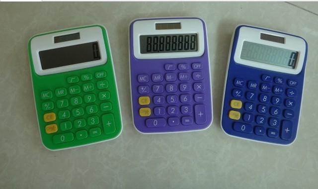 BEST SALE Desktop New mini slim card solar power pocket calculator
