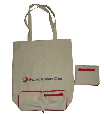 2013 cotton folding shopper