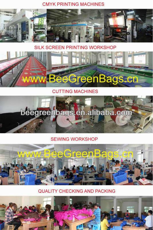 Promotion nylon mesh barrel foldable duffel bag