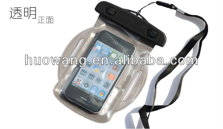 "armband waterproof bag for iphone 5"" case"