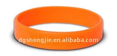 100% debossed custom sport silicone armband