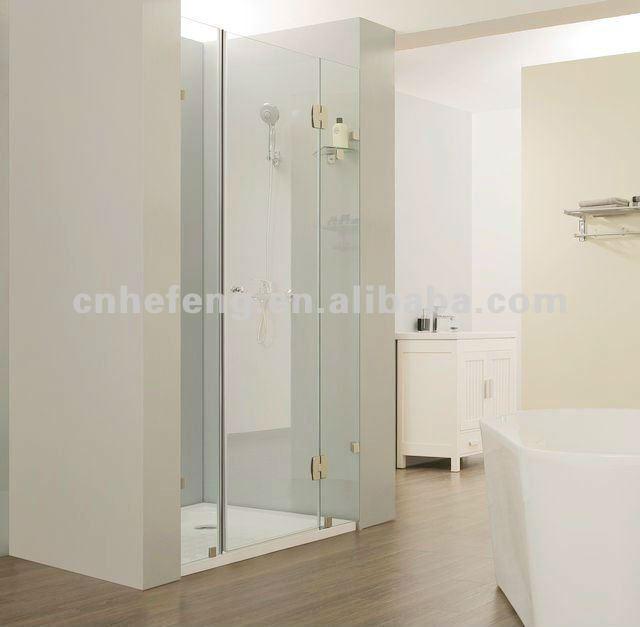 Puertas De Baño Puerto Ordaz:Baño puerta de vidrio templado para QM-S010-Puertas Ducha