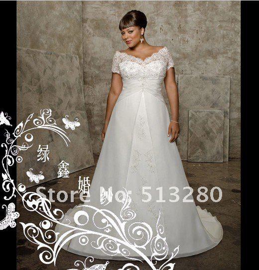fat people in wedding dresses