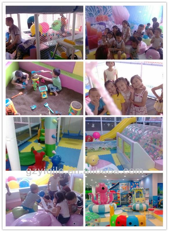novel design children soft indoor playground equipment naughty castle
