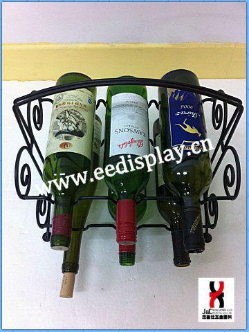 금속 장식 빨간색 와인 디스플레이 홀더/ 휴대용 홈& 정원 석사 ...