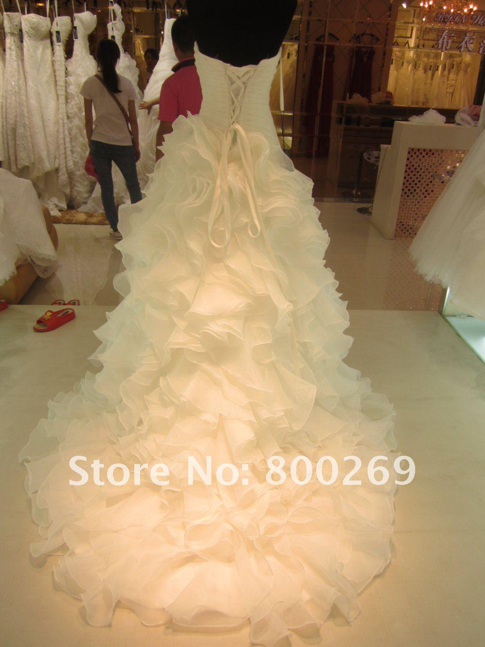 Как сделать платье свадебным