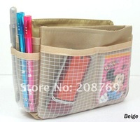 Free shipping fashion cosmetic bag organizer, purse organizer,handbag organizer for women ,sample order