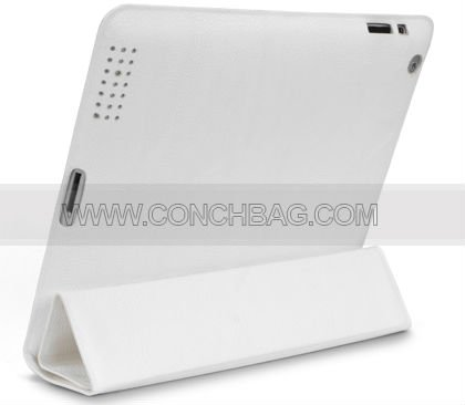 Flip cover for ipad 3, for leather ipad cases