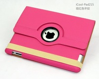 200 pcs Magnetic Smart Cover Leather Case for ipad 3 with 360 Degrees Rotating Stand, 10 Colours, Lowest price on Aliexpress