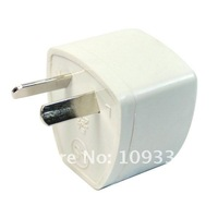 Электрическая вилка 2-pin AU Travel Plug Power Adapter Converter White