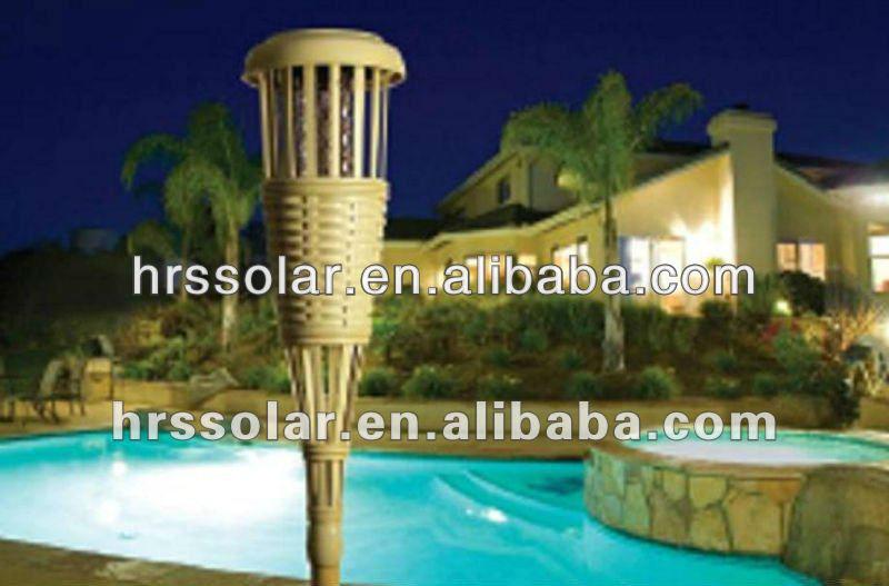 Backyard Bargain Tiki Torches : Outdoor tiki torch cheap Torch Lamp Exterior Light Yard Garden Bamboo
