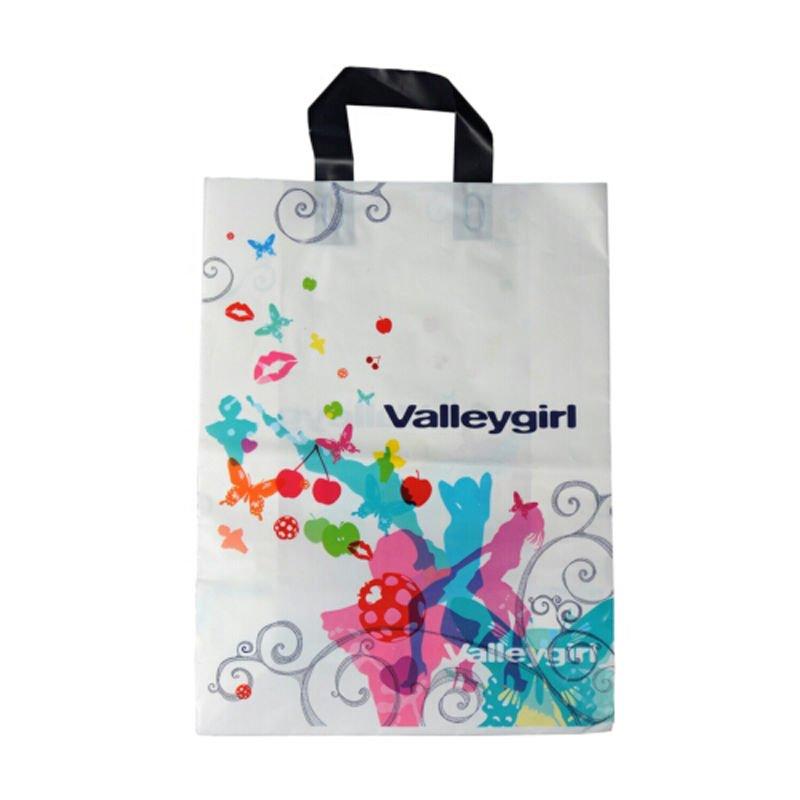 Printing Ldpe Poly Bag For Shopping Garments Ja 120135