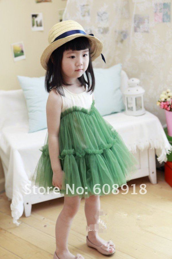 Sweet, fashion (2 COLORS ) Baby Skirt, hight quality Baby Dress, Children Dress, Baby Wear 3pcs/lot Free shipping
